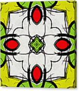 Color Symmetry  Canvas Print