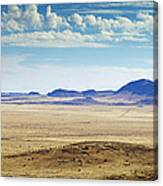 Color View Of West Texas Canvas Print