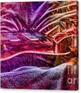 Color Wheel Digital Guitar Art By Steven Langston Canvas Print