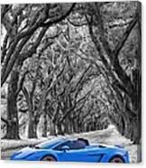 Color Your World - Lamborghini Gallardo Canvas Print