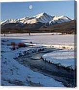 Colorado 14er Mt. Elbert Canvas Print