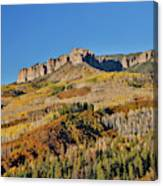Colorado, Autumn, Just East Of Ridgway Canvas Print