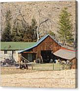 Colorado Barn Canvas Print