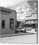 Colorado Boy Canvas Print