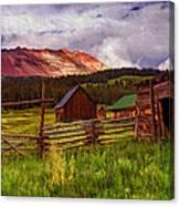 Colorado Dreamin' Canvas Print