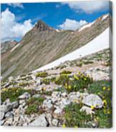 Colorado Elkhead Pass Canvas Print