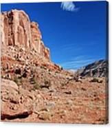 Colorado Escalante Canyon Canvas Print