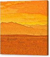 Colorado Heat Canvas Print