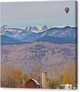 Colorado Hot Air Ballooning Canvas Print