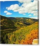 Colorado In Autumn Canvas Print