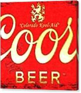 Colorado Kool-aid Canvas Print