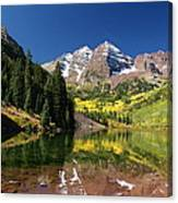 Colorado Maroon Bells Canvas Print