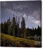 Colorado Milky Way Canvas Print