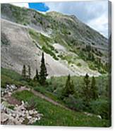 Colorado Mountain Landscape Canvas Print
