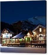 Colorado Mountain Life Canvas Print