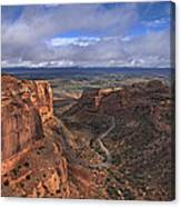 Colorado National Monument Canvas Print