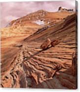 Colorado Plateau Sandstone Arizona Canvas Print
