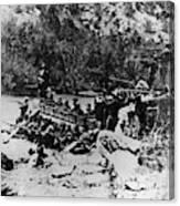 Colorado Railroad Wars Canvas Print