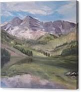 Colorado Reflections Canvas Print