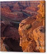Colorado River At Dawn Canvas Print