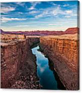 Colorado River At Marble Canyon Canvas Print