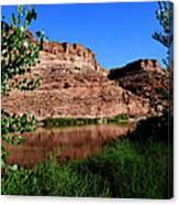 Colorado River At Moab Canvas Print