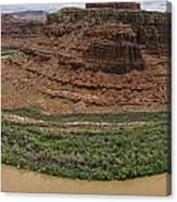 Colorado River Gooseneck Canvas Print