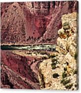 Colorado River. Grand Canyon Canvas Print