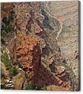Colorado River In The Grand Canyon Canvas Print