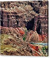 Colorado River In The Grand Canyon High Water Canvas Print