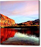 Colorado River Lees Ferry Painting Canvas Print