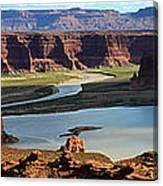 Colorado River Panoramic Canvas Print