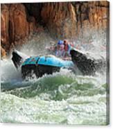Colorado River Rafters Canvas Print