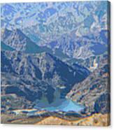 Colorado River View Canvas Print