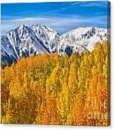 Colorado Rocky Mountain Autumn Beauty Canvas Print