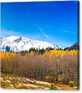 Colorado Rocky Mountain Independence Pass Autumn Pano 1 Canvas Print