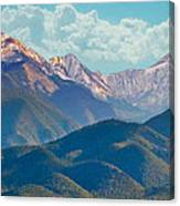 Colorado Sideroad Mountains Canvas Print