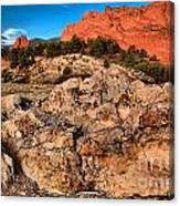 Colorado Springs Icon Canvas Print