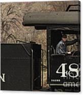 Colorados Durango Silverton Engine 480 Canvas Print