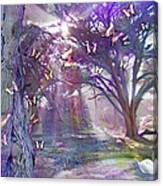 Colored Forest Canvas Print