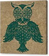 Colored Owl 4 Of 4  Canvas Print