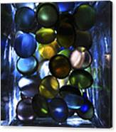 Colored Stones Of Light Canvas Print