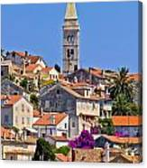 Colorful Adriatic Town Of Losinj Canvas Print