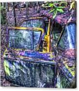 Colorful Antique Car 1 Canvas Print