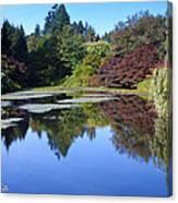 Colorful Arboretum Canvas Print