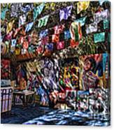 Colorful Art Store In Mexico Canvas Print