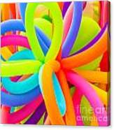 Colorful Balloons Background Canvas Print