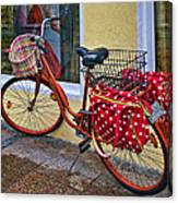 Colorful Bike Canvas Print