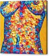 Colorful Bodyscape 1 Canvas Print