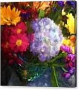 Colorful Bouquet Canvas Print